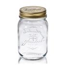 Glasslock經典玻璃密封罐1000ml沙拉罐梅森瓶-大廚師百貨-大廚師百貨
