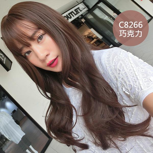 全頂假髮 空氣波浪蓬鬆捲髮 C8266 三色 魔髮樂