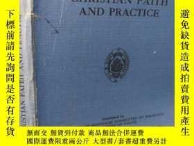 二手書博民逛書店FAITH罕見AND PRACTICE BY THE REV. 18.5X12.5CMY277653 B B