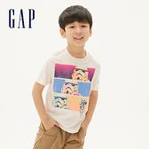 Gap男童Gap x Star Wars星際大戰系列棉質舒適圓領短袖T恤539455-燕麥色