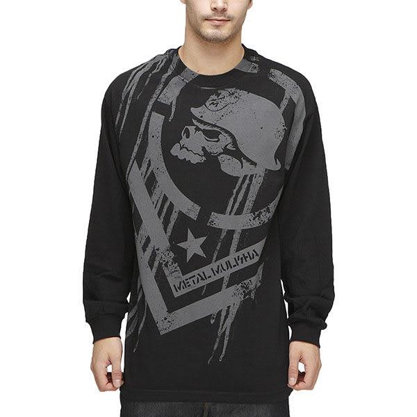 『摩達客』美國進口【Metal Mulisha】超酷骷髏標誌長袖T恤(10512065002)