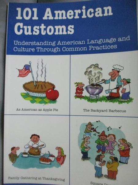 【書寶二手書T4/原文小說_WEC】101 American Customs: Understanding…_Colli