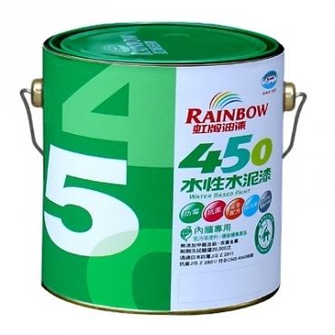 虹牌450平光水泥漆玫瑰白3L