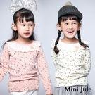 Mini Jule女童 上衣 滿版小花蕾...