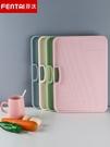 防霉菜板大號加厚案板廚房蒸板切菜板粘板搟面板家用砧板占板刀板 LX 雙11提前購
