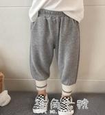 男童褲春秋新款秋裝寬鬆休閒長褲洋氣褲子小孩運動褲 海角七號