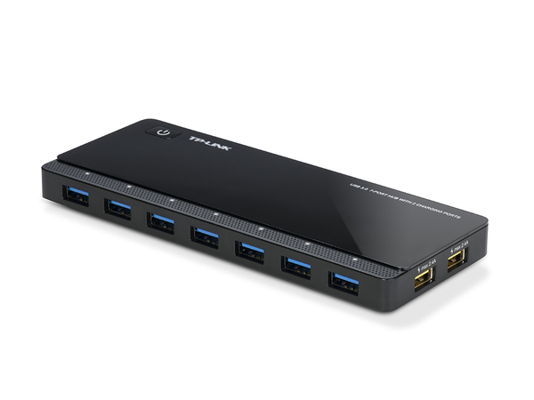 TP-LINK UH720 USB 3.0 7埠集線器(含2充電埠)