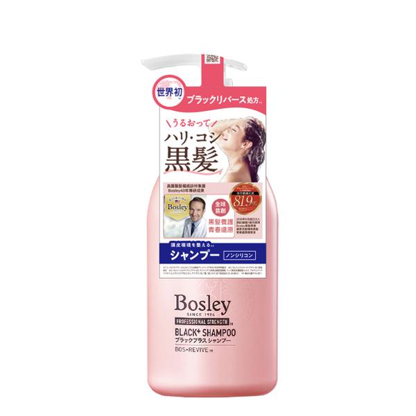 日本Bosley黑髮青春還原洗髮精 360ml