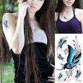 環保 防水 防汗 紋身 貼紙 明星 同款 蝴蝶 紋身貼 個性 紋身貼