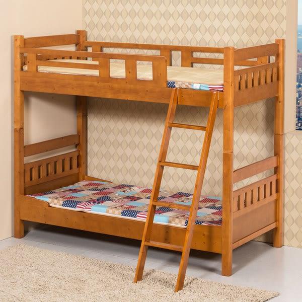 雙層床《YoStyle》杉浦3尺雙層床架(不含床墊) 兒童床 上下舖 小孩床 實木 免運