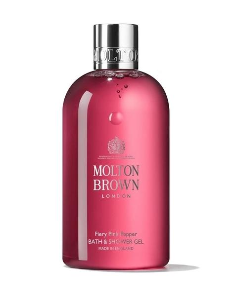 *禎的家* 英國 Molton Brown 粉紅胡椒 fiery pink pepper 沐浴精300ml 招牌品