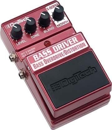 ☆ 唐尼樂器︵☆原廠公司貨保固 Digitech Bass Driver Overdrive/ Distortion 破音效果器