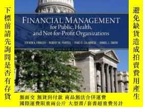 二手書博民逛書店Financial罕見Management For Public Health And Not-for-profi
