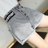 女童夏季褲子2021薄款兒童牛仔短褲女孩休閒寬鬆褲中大童短褲外穿 快速出貨