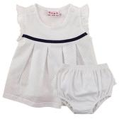 【愛的世界】純棉圓領荷葉邊無袖洋裝/2~3歲-台灣製- ★春夏洋裝 涼夏推薦