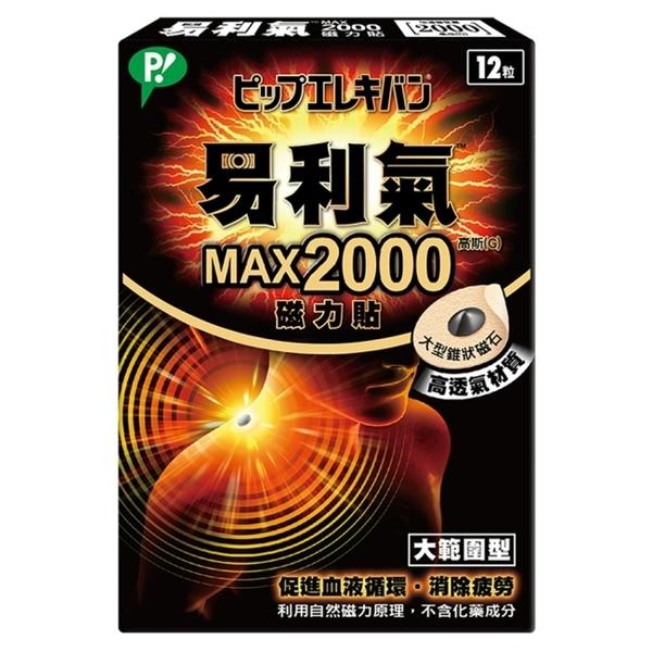 易利氣MAX2000磁力貼(12粒)