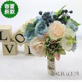 新娘手捧花 仿真玫瑰結婚婚慶用花