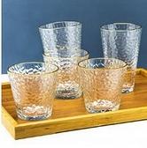 酒杯 金邊玻璃杯家用耐熱喝水杯女牛奶茶杯套裝果汁杯子簡約啤酒杯【快速出貨八折下殺】