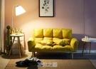 懶人沙發可折疊雙人簡約現代網紅小戶型陽臺臥室日式榻榻米沙發床 快速出货Q