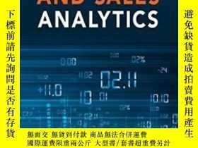 二手書博民逛書店Marketing罕見And Sales Analytics: Proven Techniques And Pow