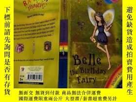 二手書博民逛書店belle罕見the birthday fairy :生日仙女貝爾Y200392