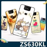 ASUS ZenFone 6 ZS630KL 彩繪Q萌保護套 軟殼 卡通塗鴉 小清新 防指紋 全包款 矽膠套 手機套 手機殼