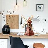 創意家居復古風車存錢罐客廳酒櫃書架裝飾品擺件房間桌面臥室擺設 全館免運