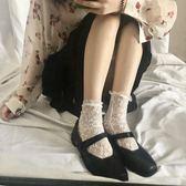 小皮鞋 復古少女風日式一字扣洛克小姐方頭百搭小皮鞋 時尚新品