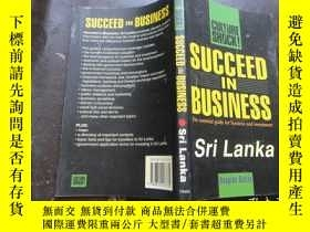 二手書博民逛書店Succeed罕見in Business: Sri Lanka