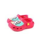 奇奇冒險日記 涼鞋 花園鞋 桃紅色 防水 中童 童鞋 CH0901 no773