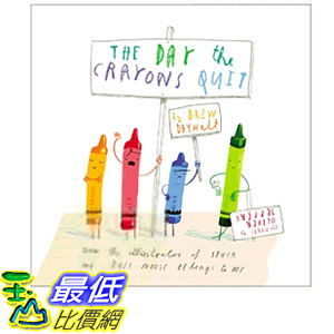 2019 美國得獎書籍 The Day the Crayons Quit