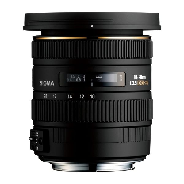 【聖影數位】SIGMA 10-20mm F3.5 EX DC HSM APS-C專用超廣角鏡頭 (恆伸公司貨 三年保固)