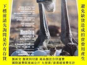 二手書博民逛書店NATIONAL罕見GEOGRAPHIC PARK AT THE TOP OF THE WORLD 1982 6