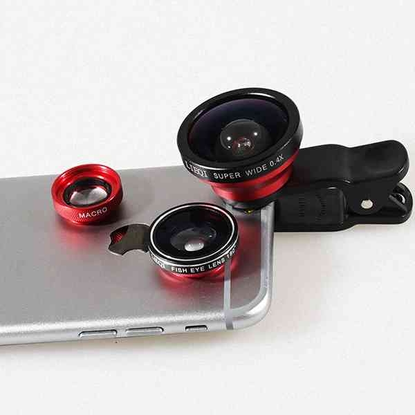原廠 LIEQI 三合一 0.4X 超廣角鏡頭 魚眼 微距 LQ-003 手機鏡頭 自拍神器 XS XR i8 R15 Find X 『無名』 K03120