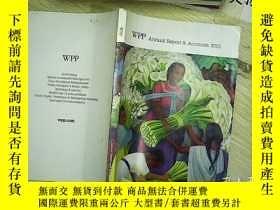 二手書博民逛書店WPP罕見annual Report & Accounts 20