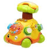 嬰幼兒童電話機小孩玩具電話車手機寶寶早教益智音樂女孩0-1-2歲 全館八八折鉅惠促銷HTCC
