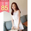 JoYcE ShOp.Section.兩件式直紋背心短裙-米白 ONE SIZE【60-01121459】