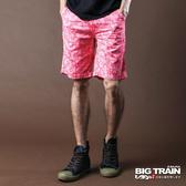 Big Train 滿版印花短褲-男-粉紅-B5006410