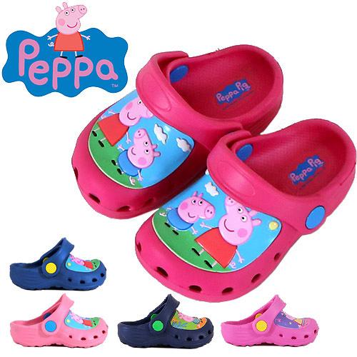 男女童 佩佩豬 喬治 0001台灣製造一體成型涼拖兩穿輕量防水 園丁鞋 洞洞鞋 布希鞋 59鞋廊