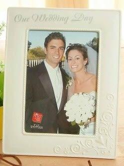 [協貿國際]  歐式經典相架結婚紀念禮物陶瓷相框(單個價)