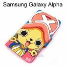 海賊王側翻支架皮套 [J17] Samsung Galaxy Alpha G850Y 航海王 喬巴【台灣正版授權】