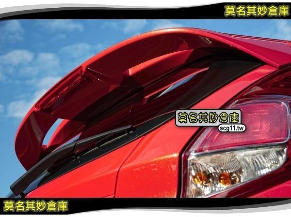莫名其妙倉庫【AL026 原廠型大尾翼】福特 Ford New Fiesta 小肥精品配件空力套件