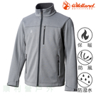 荒野 WILDLAND 男款三層貼防風保暖功能外套 0A72908 灰色 防風外套 防潑水 保暖外套 OUTDOOR NICE