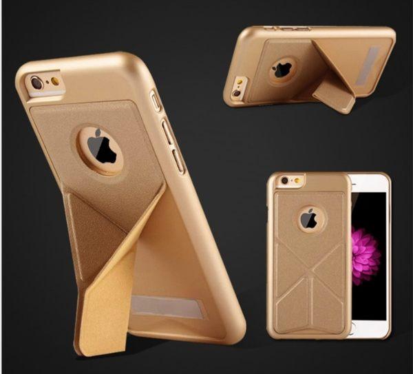 [24hr 火速出貨] 手機殼 蘋果 超強防摔 防滑 蘋果 iphone5 i6 plus 支架 多色選擇 磨砂 皮套