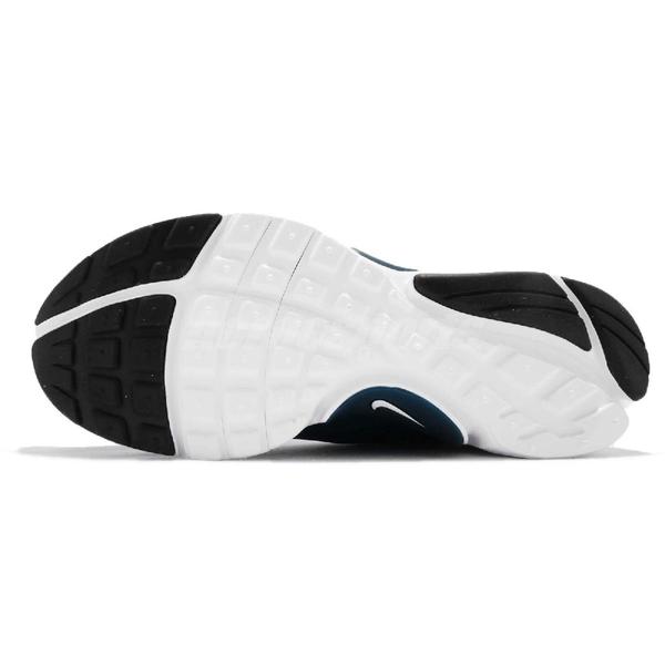 Nike 休閒慢跑鞋 Presto Extreme GS 藍 白 低筒 無鞋帶 襪套式 魚骨鞋進化 女鞋【PUMP306】 870020-404