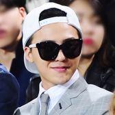 現貨-新款韓版GD權志龍太陽眼鏡 墨鏡 復古彩膜太陽鏡女士時尚個性墨鏡男士百搭瘦臉太陽眼鏡 20