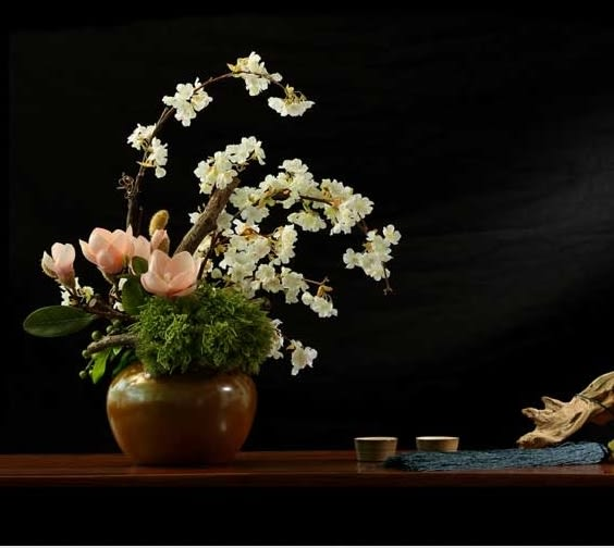 模擬花套裝花藝 客廳玄關假花幹花裝飾品商業插花- 12950046