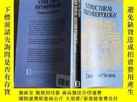 二手書博民逛書店Structural罕見Anthropology claude