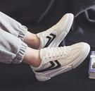 帆布潮鞋韓版潮流男鞋百搭休閑小白板鞋低幫布鞋