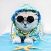 狗狗衣服 夏季狗狗衣服夏威夷風情花襯衫泰迪雪納瑞防曬衣連帽裝寵物服飾 小宅女大購物
